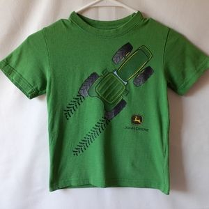 John Deere boys short sleeve t-shirt